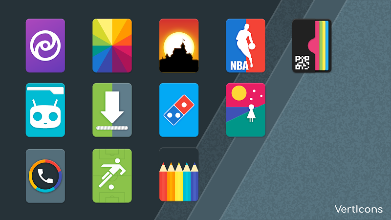 Verticons Icon Pack Screenshot 6