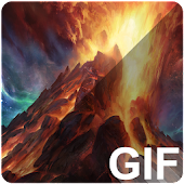 App Volcano Live (GIF) Wallpapers apk for kindle fire