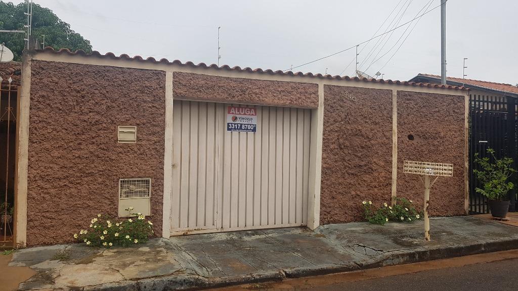 Casa com 2 dormitórios para alugar, 99 m² por R$ 650/mês - Conjunto José Vallim de Melo - Uberaba/MG