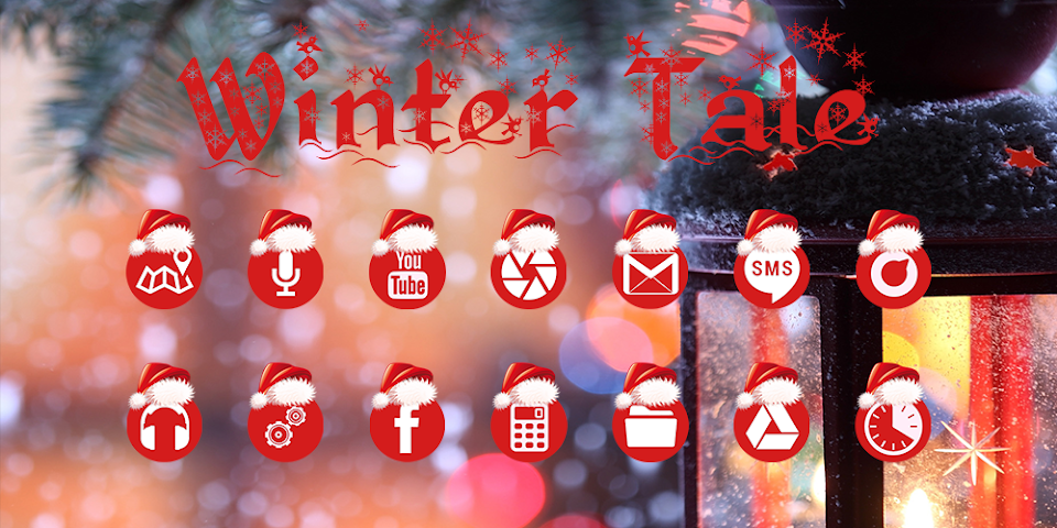 android Winter Tale - Solo Theme Screenshot 0