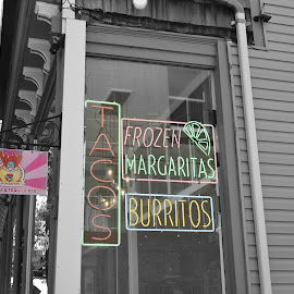 Mexican Restaurant Signage  by Lorraine D.  Heaney - Artistic Objects Signs
