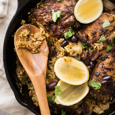 One Pot Moroccan Chicken and Rice
