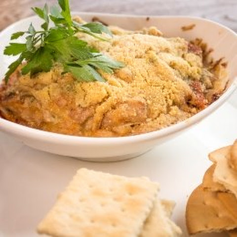 Chef Chris Manabe's Ahi Spam Dip With Crackers