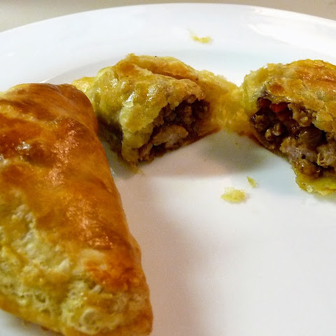 Curried Pork Pasties