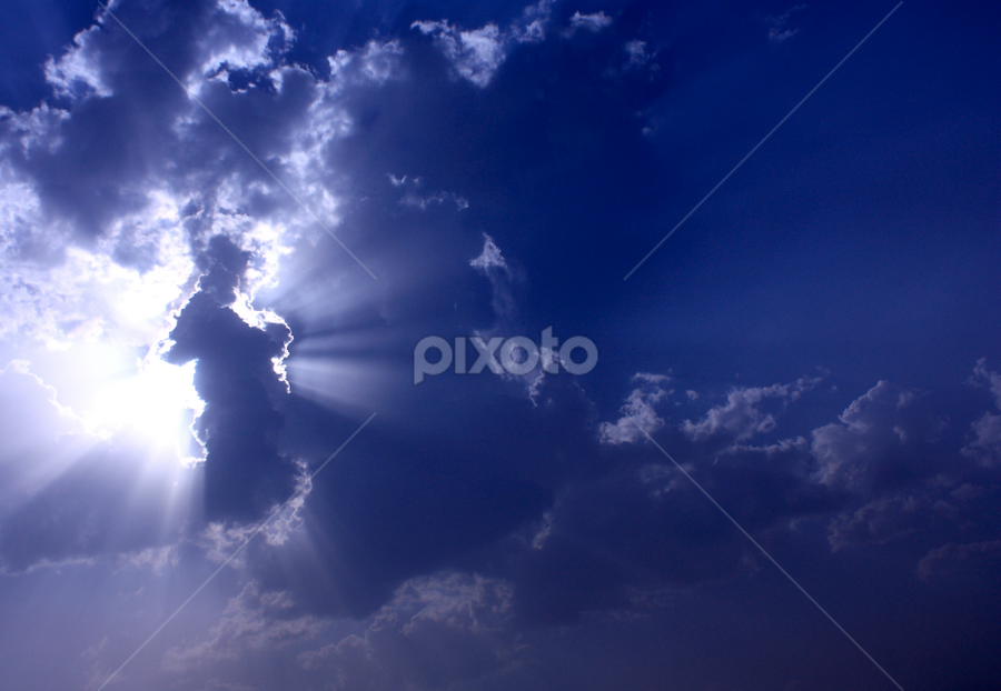 Angel in the sky. by Sridhar Balasubramanian - Abstract Fine Art ( angel, sky, pattern, nature, cloud, overcast sky )