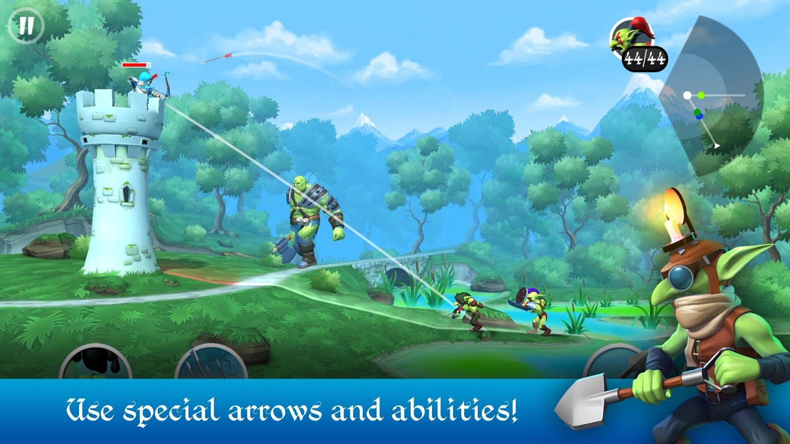 Tiny Archers Screenshot 2