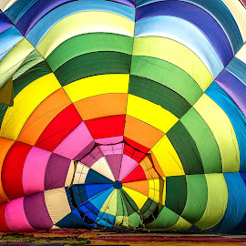air balloons festival by Luigi Alloni - Abstract Patterns ( balloon colors lines geometries festival ferrara inside luigialloni )
