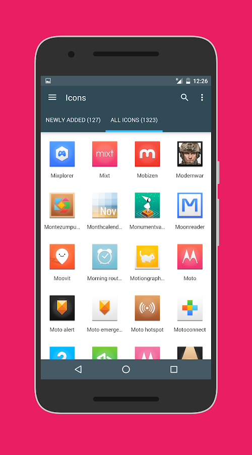 Canvas Icon Pack Screenshot 1