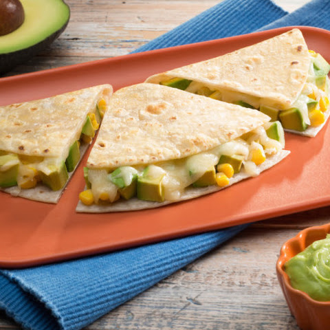 Avocado Quesadillas n' Dip