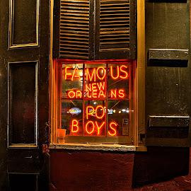 PO boy s by DE Grabenstein - Artistic Objects Signs