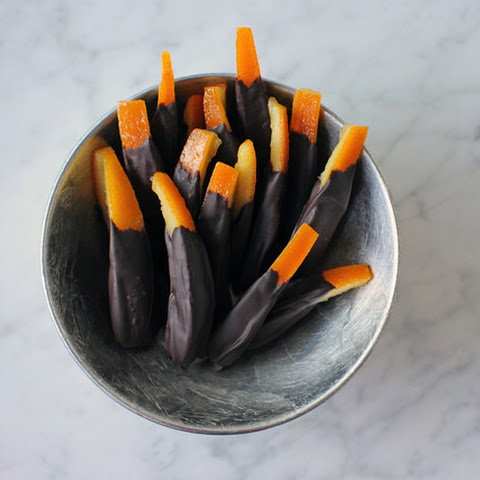 Chocolate Covered Orange Peels