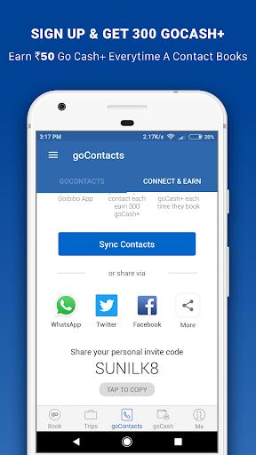 Goibibo - Flight Hotel Bus Car IRCTC Booking App screenshot 8