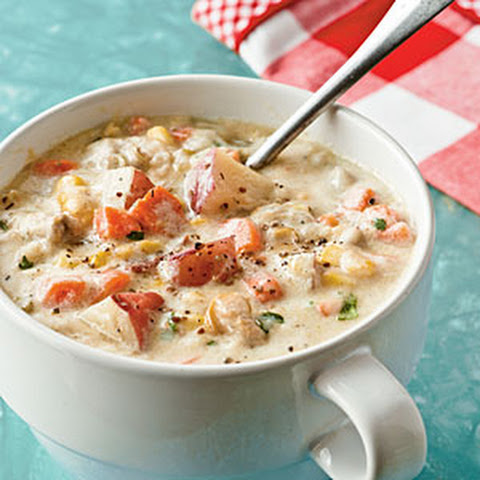 Creamy Clam Chowder With Pancetta Recipe Yummly Recipes Dishmaps