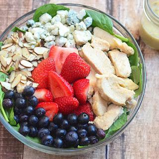 Spinach Strawberry Salad Honey Mustard Recipes