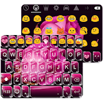 One Rose Emoji Keyboard Theme 1.0.1 Apk