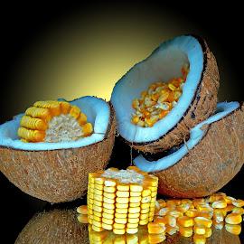 Corn n nut by Asif Bora - Food & Drink Fruits & Vegetables