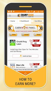 App Champcash Earn Money Free APK for Windows Phone