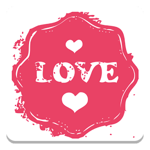 Cover art Sticker Set: Love Stamps