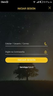 ServiApp - screenshot
