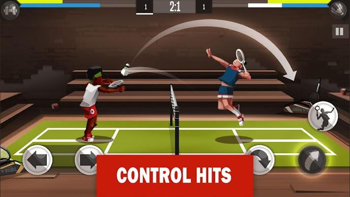 Badminton League Screenshot Image