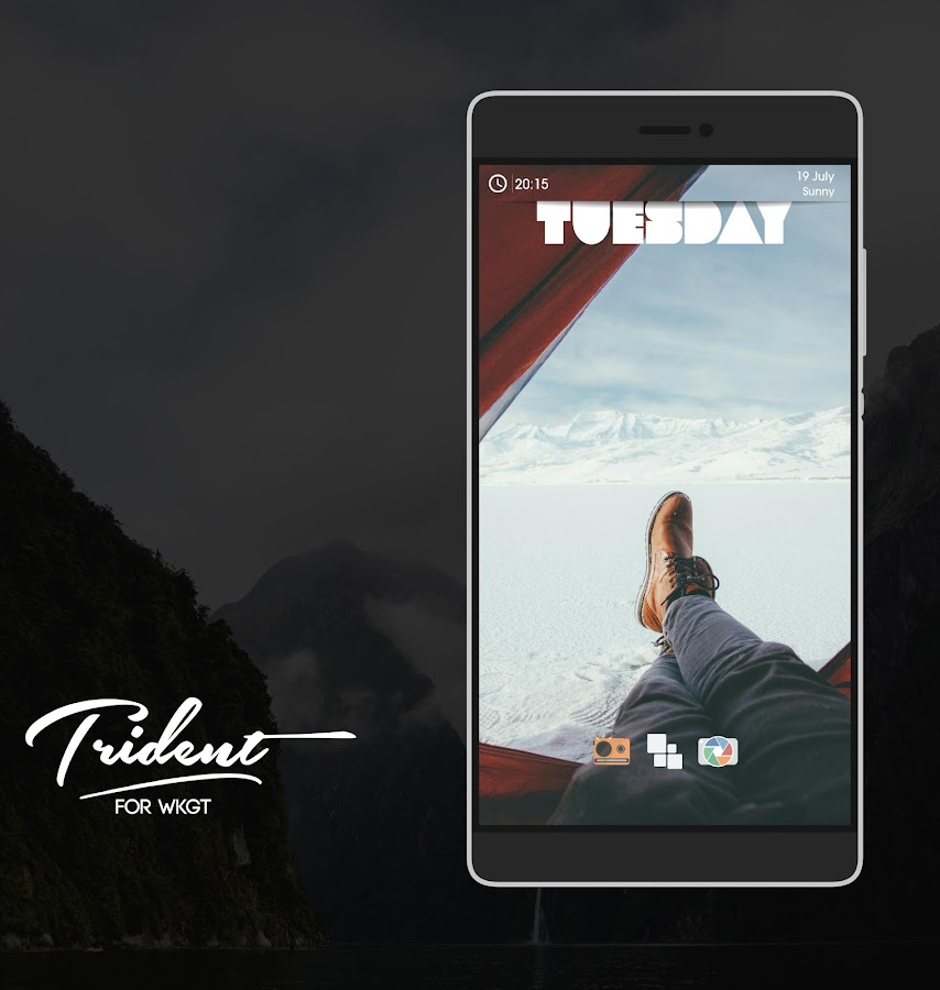 Trident for KWGT Screenshot 1