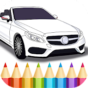German Cars Coloring Book 1.14 Icon