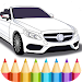 German Cars Coloring Book Icon
