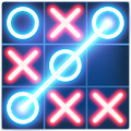 Tic Tac Toe Glow APK for Bluestacks