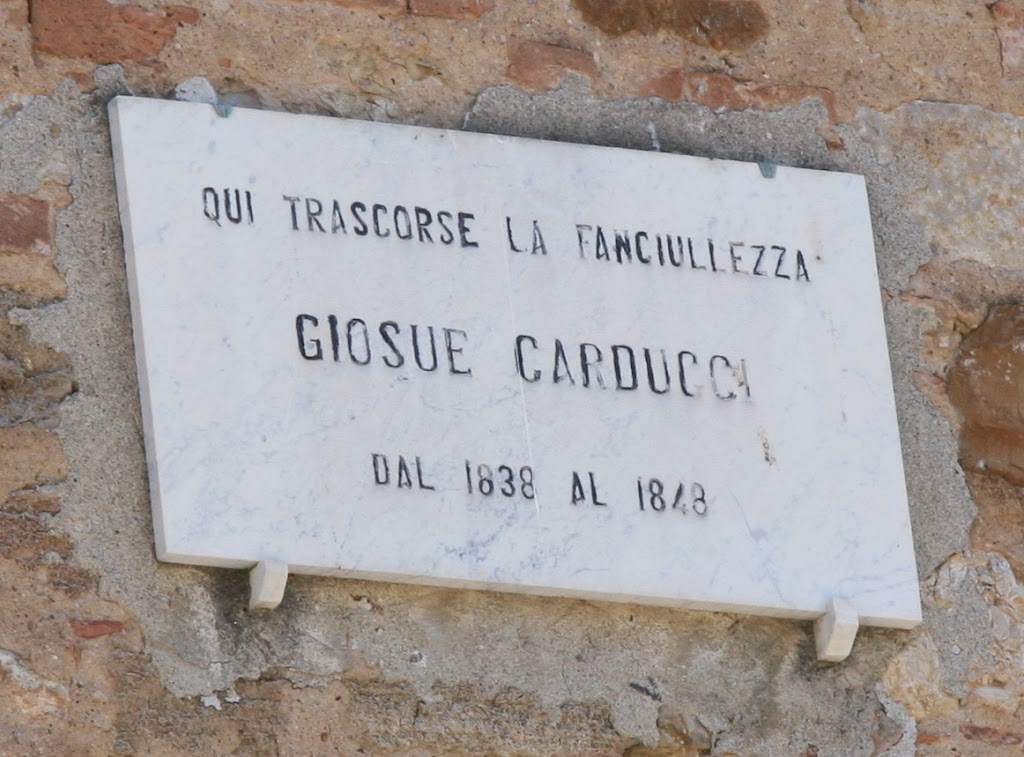 Giosuè Alessandro Giuseppe Carducci was an Italian poet and teacher. He was very influential and was regarded as the official national poet of modern Italy Submitted by: @IanThorp