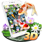 Koi Fish Aquarium 3D Theme Icon