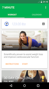 App 7 Minute Workout APK for Kindle