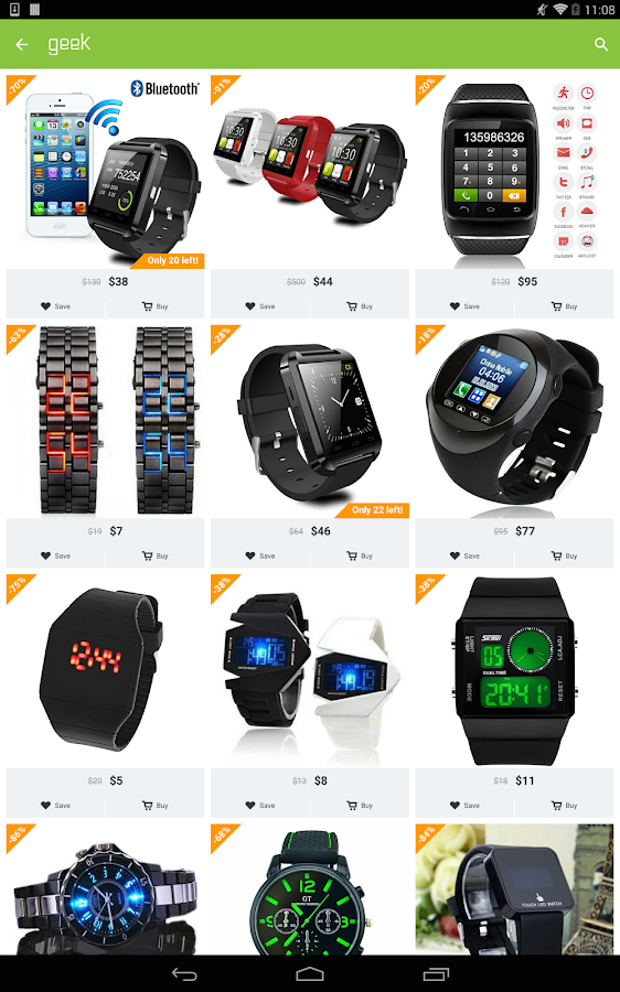 Geek - Smarter Shopping Screenshot 10