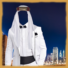 Modern Arab Suit Photo Maker