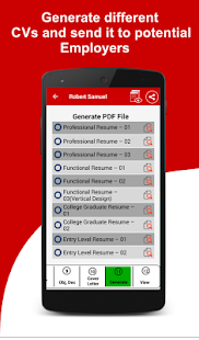 App Resume Builder Free, 5 Minute CV Maker & Templates APK for Windows Phone