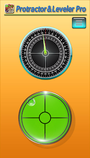 Protractor and leveler Pro - screenshot