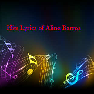 Hits Lyrics of Aline Barros - screenshot