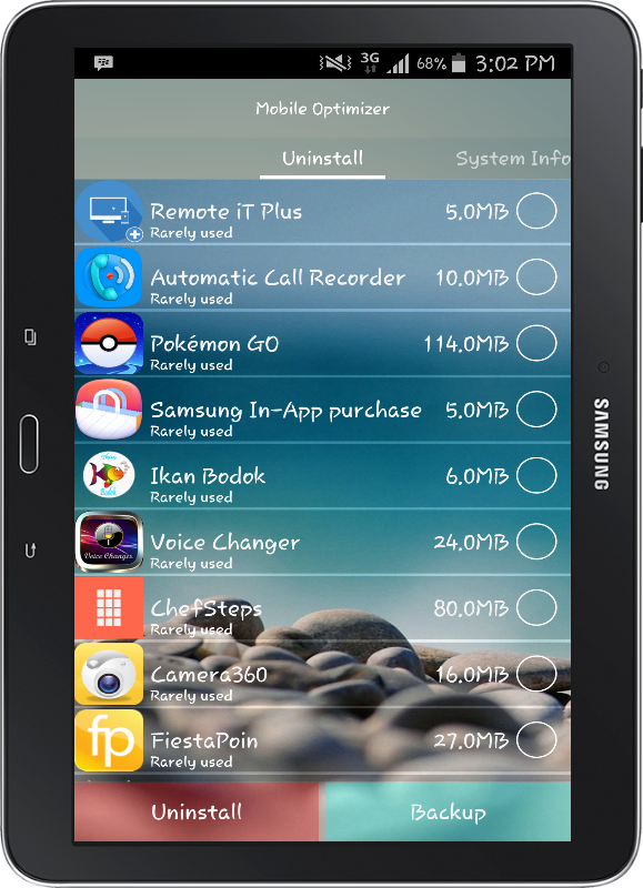 Mobile Optimizer PRO Screenshot 10