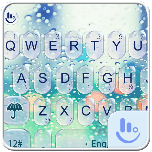 Glass Water Keyboard Theme (app)