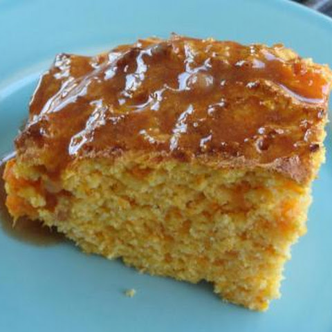 Sweet Potato Cornbread with Cinnamon Honey Butter