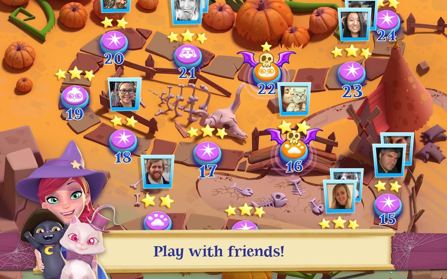 Bubble Witch 2 Saga Screenshot 9
