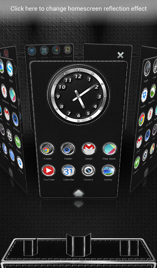 Next Launcher 3D Theme Bespoke Screenshot 3
