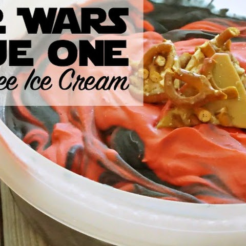 Star Wars Rogue One Vegan Toffee Ice Cream