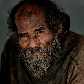 by Charliemagne Unggay - People Portraits of Men ( senior citizen,  )