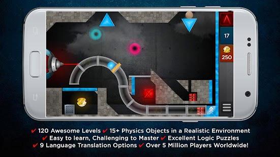 LASERBREAK - Free Physics Laser Puzzle APK for Bluestacks