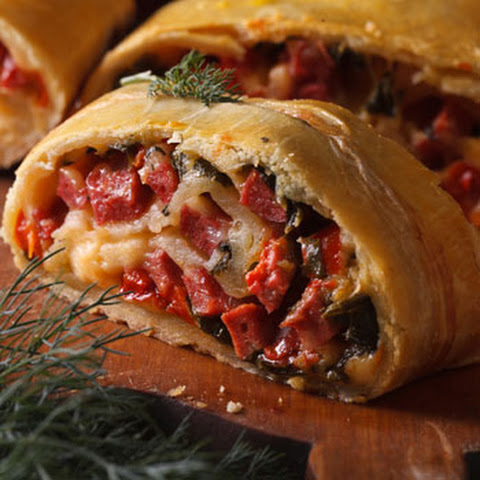Cold Cuts Calzone