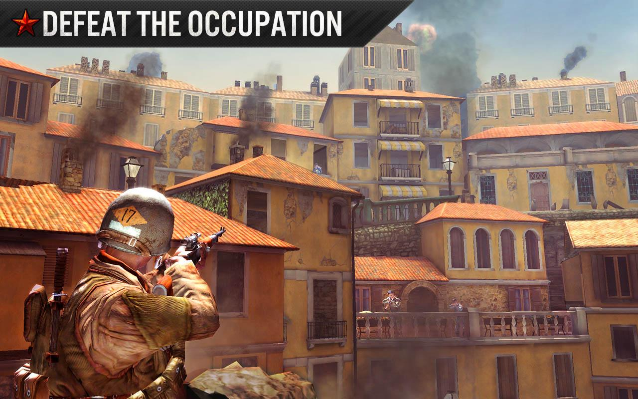 FRONTLINE COMMANDO: WW2 Screenshot 2
