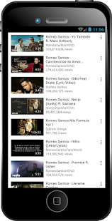 romeo santos mix - screenshot