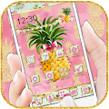 App Flamingo Pineapple Fruit Theme APK for Windows Phone