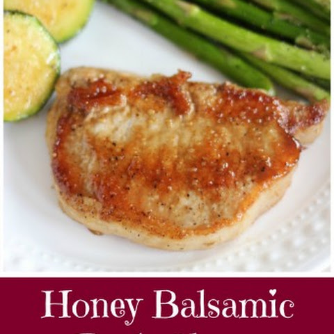 Honey Balsamic Baked Pork Chops