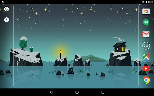 Pixelscapes Wallpaper- screenshot